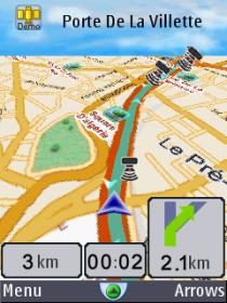 amAze GPS - улицы всего мира