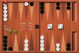 Backgammon Короткие нарды