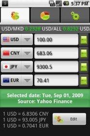 aiCurrency - более 200 валют стран мира и их конвертация
