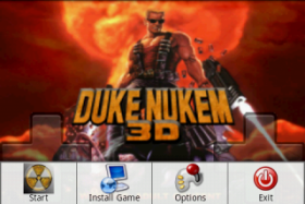 Duke Nukem GP - порт Duke Nukem