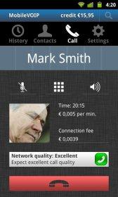MobileVOIP - звонки через Wi-Fi или 3G по низким ценам