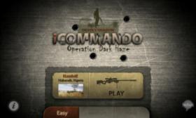 iCommando - стрельба из снайперской винтовки