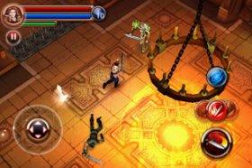 Dungeon Hunter - отличная RPG на тему магов и рыцарей