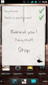 Note!t Widget - упорядочение дел