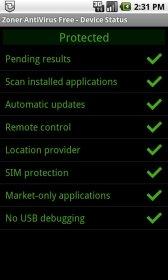 Zoner AntiVirus - антивирус для безопасности смартфона