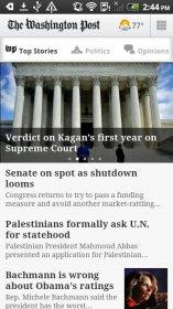 The Washington Post - программа новостей и многое другое от газеты The Washington Post