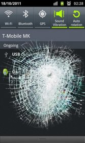 Crack Your Screen - разбей дисплей своего смартфона