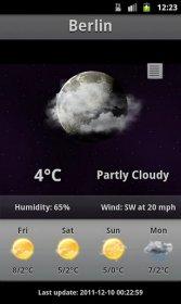 Android Weather - быстрый виджет с точной погодой