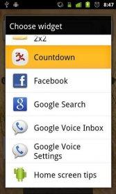 Easy Countdown Widget - виджет обратного отсчета до определенного события