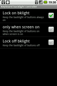 Keyboard backlight controller - приложение для отключения подсветки кнопок