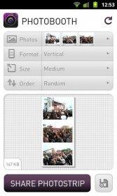 Photobooth - склеивания фотографий в один коллаж