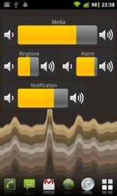 Виджет Регулятор громкости - простой в использовании и симпатичный