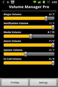 Volume Manager - корректировка величины звука