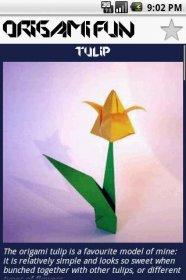 Origami Fun - инструкция для изготовления оригами
