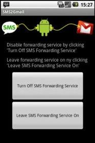 SMS2Gmail - копирование важных sms-сообщений на почту