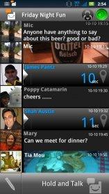 Voxer Walkie Talkie - трансформирование Android-смартфона в рацию