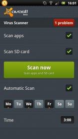 Avast! Mobile Security - комплексная защита Android-смартфона