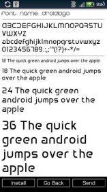 Font Installer * Root * - изменение стандартного шрифта Android-системы