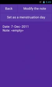 Menstruation Ovulation Period - календарь для женщин