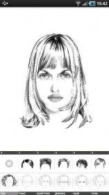 FlashFace Woman - рисование фотороботов друзей