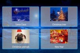 New Year Postcards - отправка праздничных открыток на e-mail