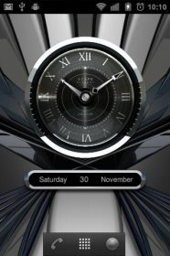 STALLION Designer Clock Widget - виджет стильных часов