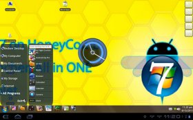 Honey Comb Seven Launcher Full - windows 7 и HoneyComb объединились