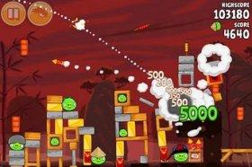Angry Birds Seasons: Year of the Dragon - злые птицы в год Дракона