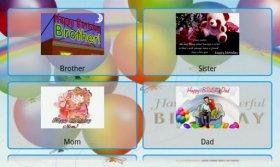 Happy Birthday Postcards - отправка открыток и поздравлений