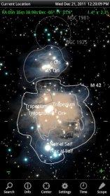 SkySafari Pro - каталог объектов звездного неба