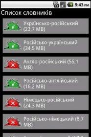 HedgeDict: Uk-Ru-Uk - переводчик украинского и русского языка между собой в двух направлениях