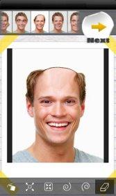 Face Effects - предоставление лицам на фотоснимках различных эффектов