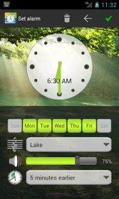 Nature Sounds Alarm Clock - звуки природы в качестве будильника