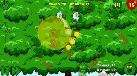 Forest Tower Defense - звери ловят фрукты