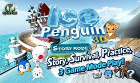 Ice Penguin 3D - пингвиний кёрлинг