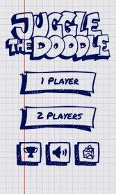 Juggle the Doodle - чеканим мячик