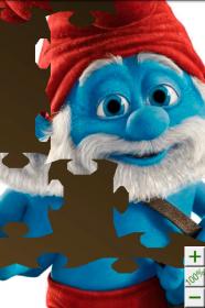 Smurfs. Jigsaw Puzzle - паззлы из мультяшных героев