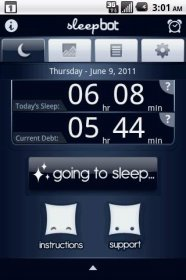 Sleep Bot Tracker Log - статистика продолжительности сна