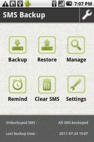 SMS Backup & Restore - создание резервных копий сообщений