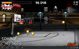 Tip-Off Basketball - бросаем мяч в кольцо по сети