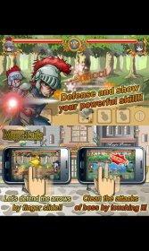Touch Touch Magic Battle - борьба с монстрами из волшебных миров