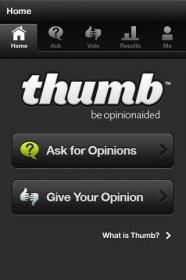Thumb - вопросы и ответы on-line