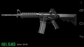 Modern Warfare Guns - виртуальные выстрелы оружия