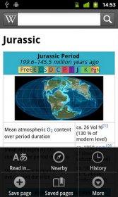Wikipedia Мобильный - официальная Wikipedia на Android-смартфоне
