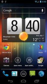 Apex Launcher - новый кастомный лончер для Android ICS