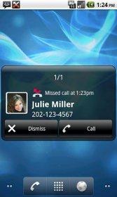 Droid Notify - отображение пропущенных сообщений и звонков