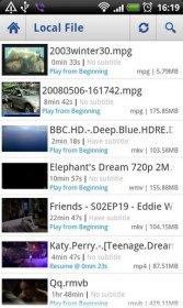 Daroon Player - проигрыватель мультимедиа и потокового видео