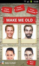 Make Me Old - ваш вид в старости