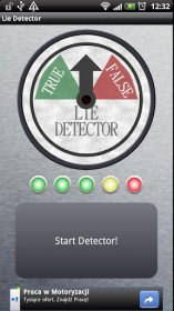 Lie Detector - имитация детектора лжи
