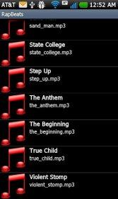 Rap Beats Pro - использование смартфона для создания собственного рэпа